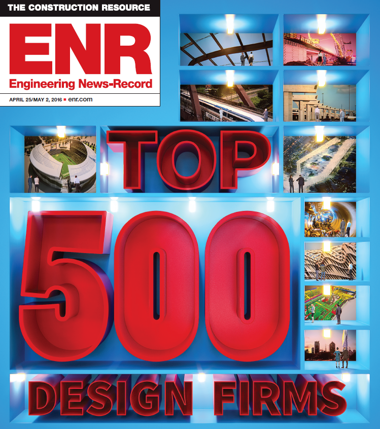 TRC Rises in Ranking on ENR Top 500 Design Firms TRC