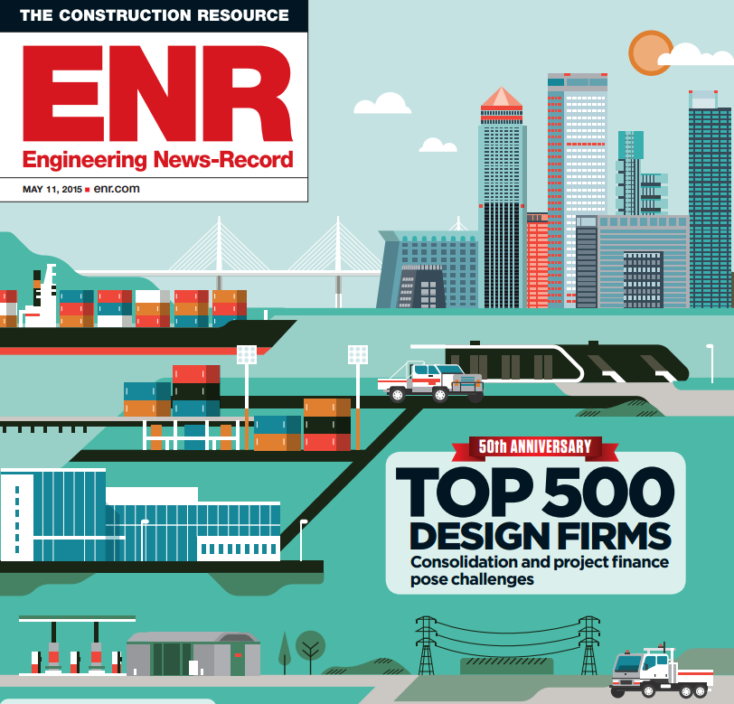 TRC Maintains Strong Ranking on ENR Top 500 Design Firms TRC