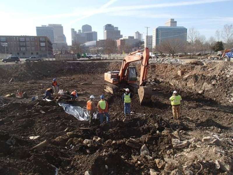 Archaeological Investigations for the Nashville Sounds Baseball Stadium