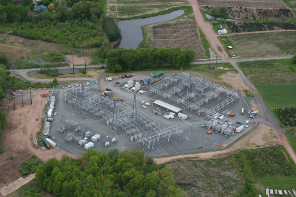 Northeast Utilities Barbour Hill Substation Modification | TRC