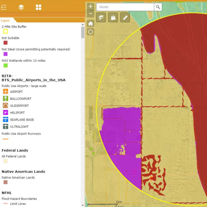 Using GIS Technology to Find Solar Development Sites