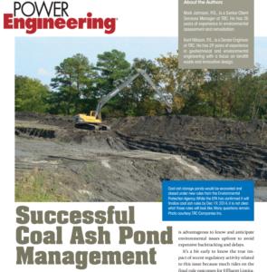 Resources news trc for Design of ash pond