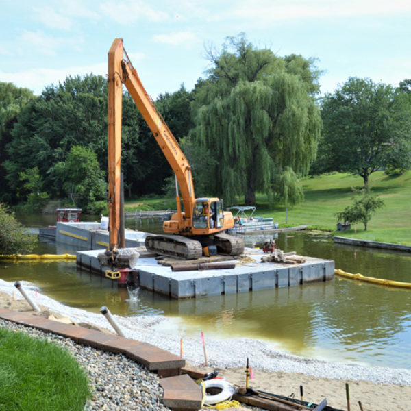 Slick Solution: How TRC's Patented NAPL Trapping Cap System Restored a Michigan Waterway