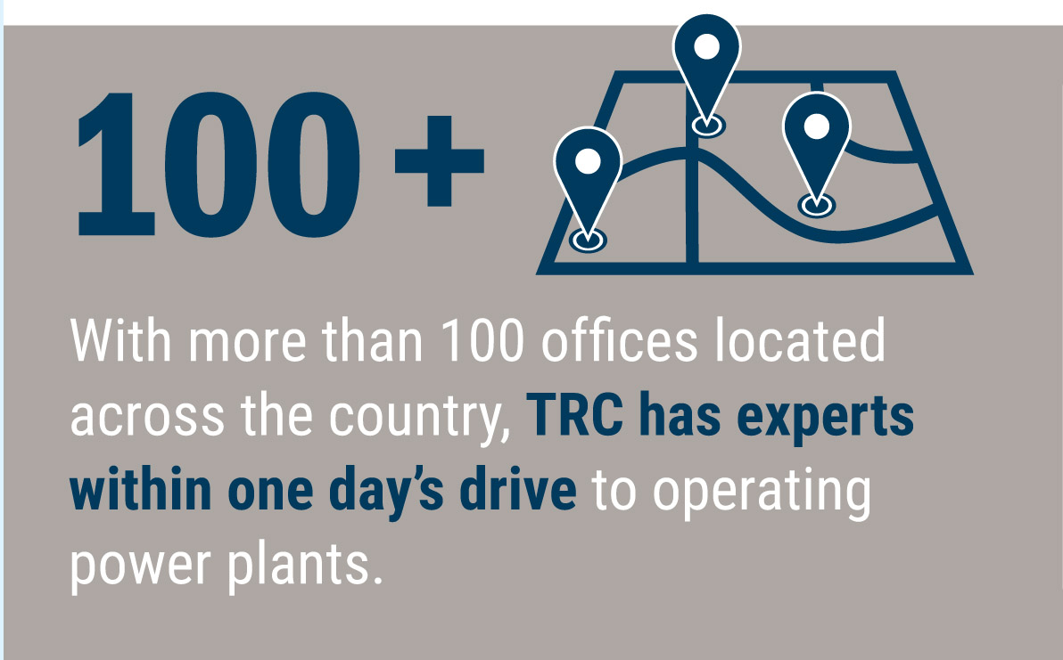 TRC has over 120 offices nationwide